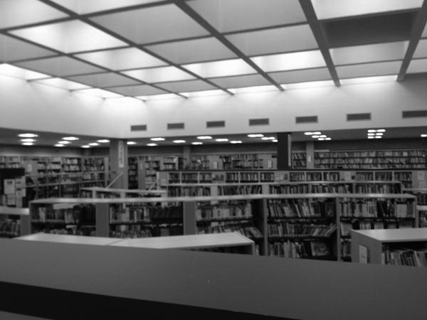 Sutton Library, Feb 2013