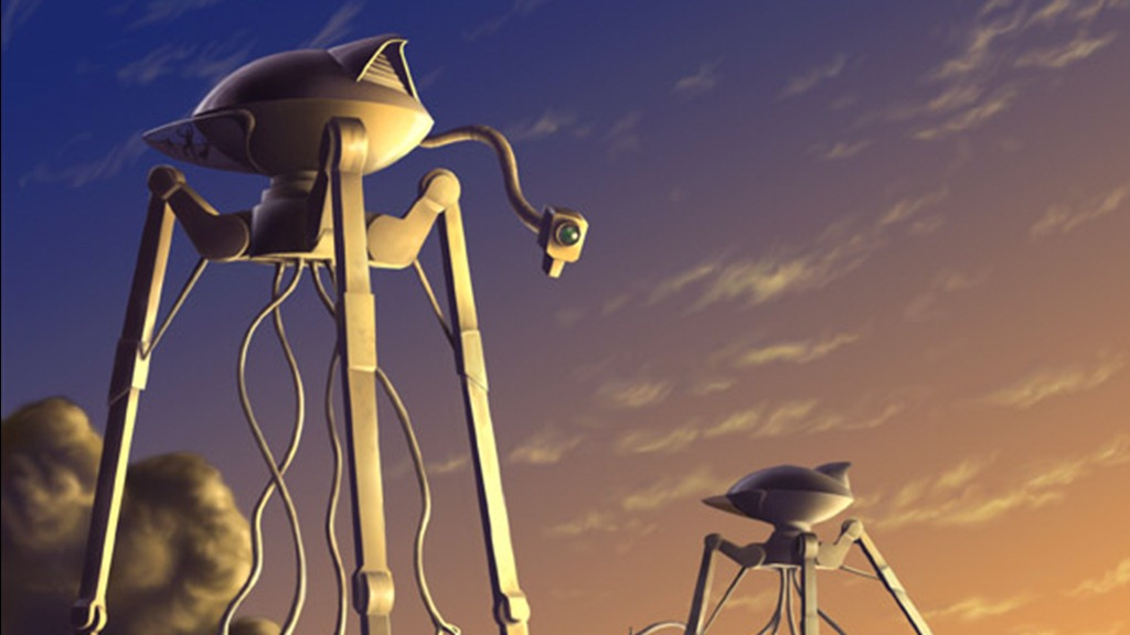 War of the Worlds - Tripod (Digital Illustration by pmoodie)