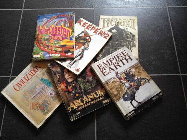 Game Manuals