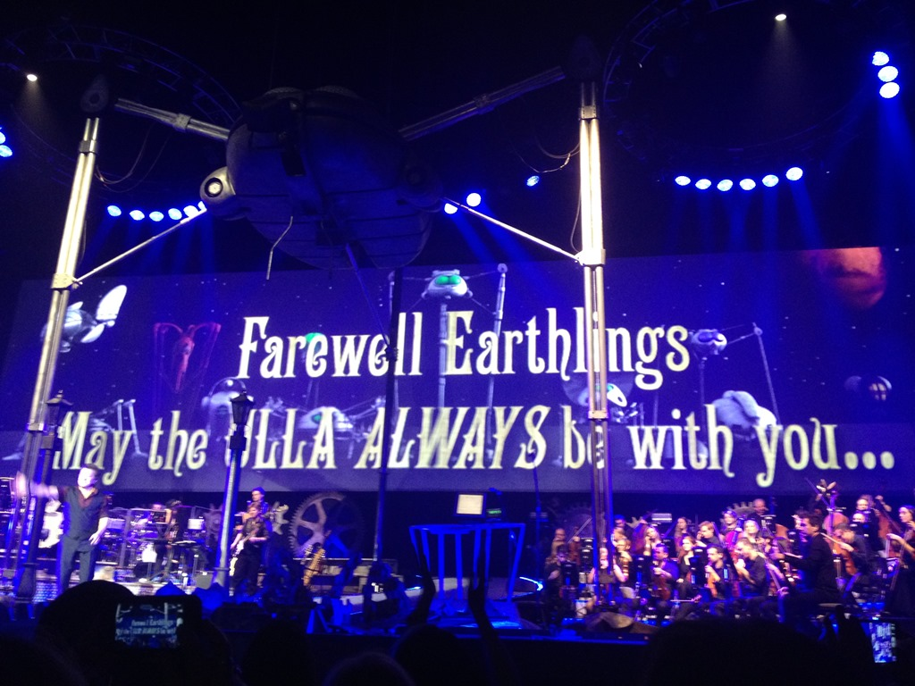Jeff Wayne's The War of the Worlds 2014