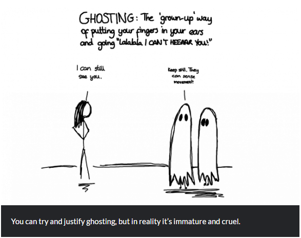 Ghosting: Further thoughts and updates